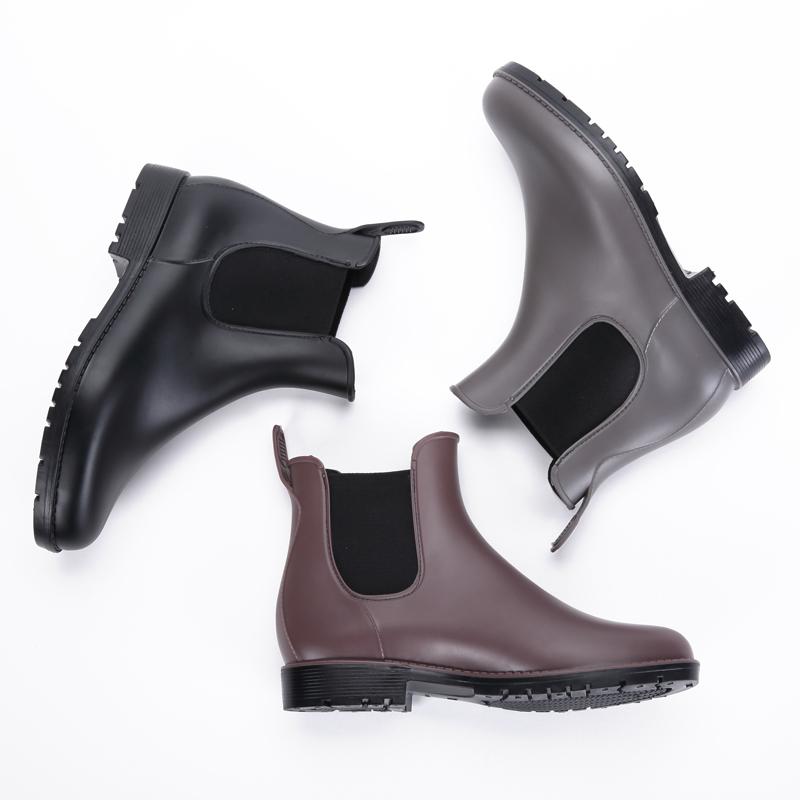 雨鞋女低帮胶鞋水鞋女雨靴短筒防水鞋春夏学生套鞋 出口日本单