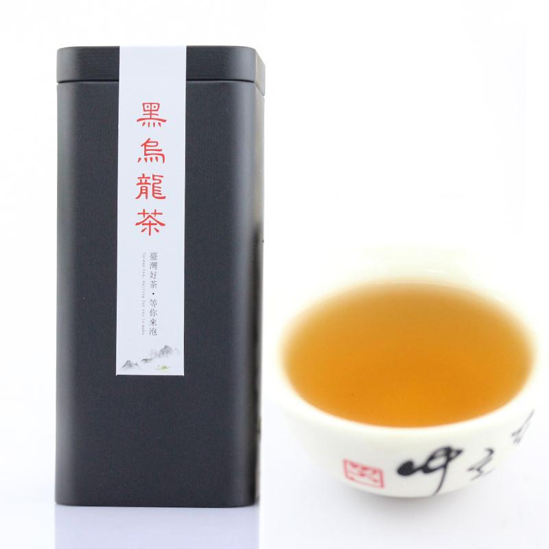 台湾原装进口黑乌龙茶叶正宗高山茶浓香型油切冻顶乌龙茶