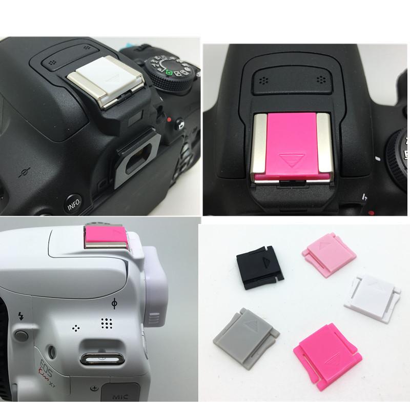 佳能EOS M M2 M3 600D 700D 750D 6D 70D 5D2相机白色热靴盖配件