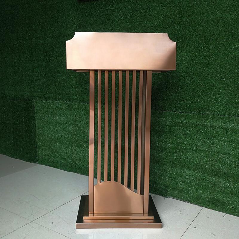 发言台 迎宾台 接待台 报告台 演讲台物业 不锈钢户外房地产