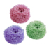 Steel wire cleaning ball household nano-dishwashing iron wire ball kitchen does not drop wire brush pot stainless steel wire ball with handle