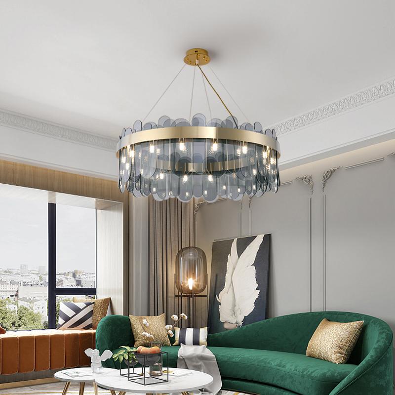 北欧客厅吊灯卧室书房餐厅后现代简约轻奢设计师网红创意样板房灯