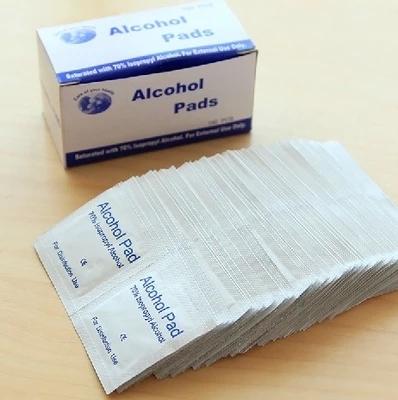 戶外急救用品傷口一次性消毒片酒精居家旅行常備消毒溼巾100片裝