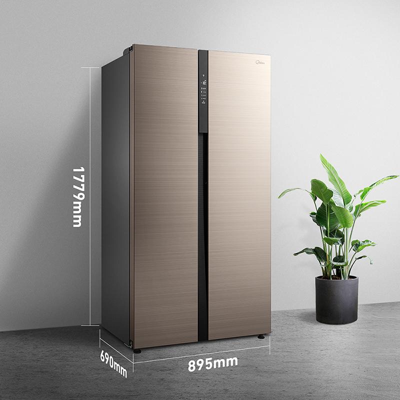 对开门智能风冷无霜一级家用双开门电冰箱 E 541WKPZM BCD 美