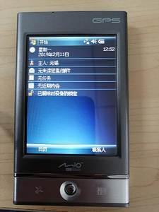 二手Mio宇达电通P360掌上电脑GPS导航仪,屏幕3.5英寸
