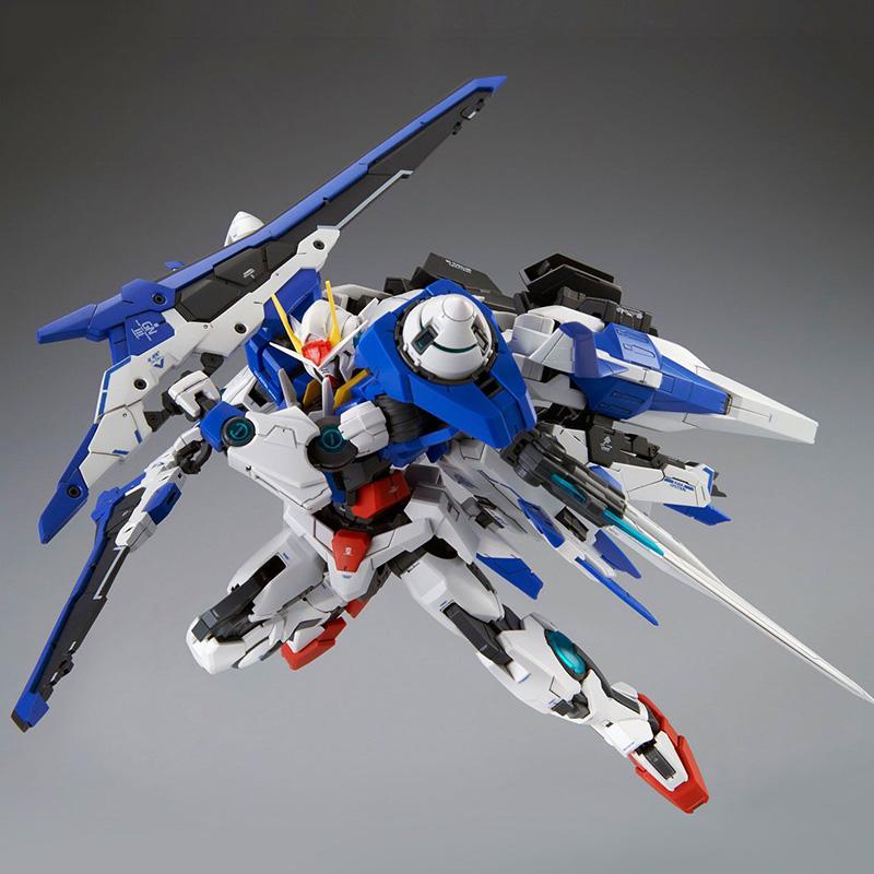 万代高达模型PB限定MG 1/100 00 XN Raiser 00R敢达拼装强化巨剑