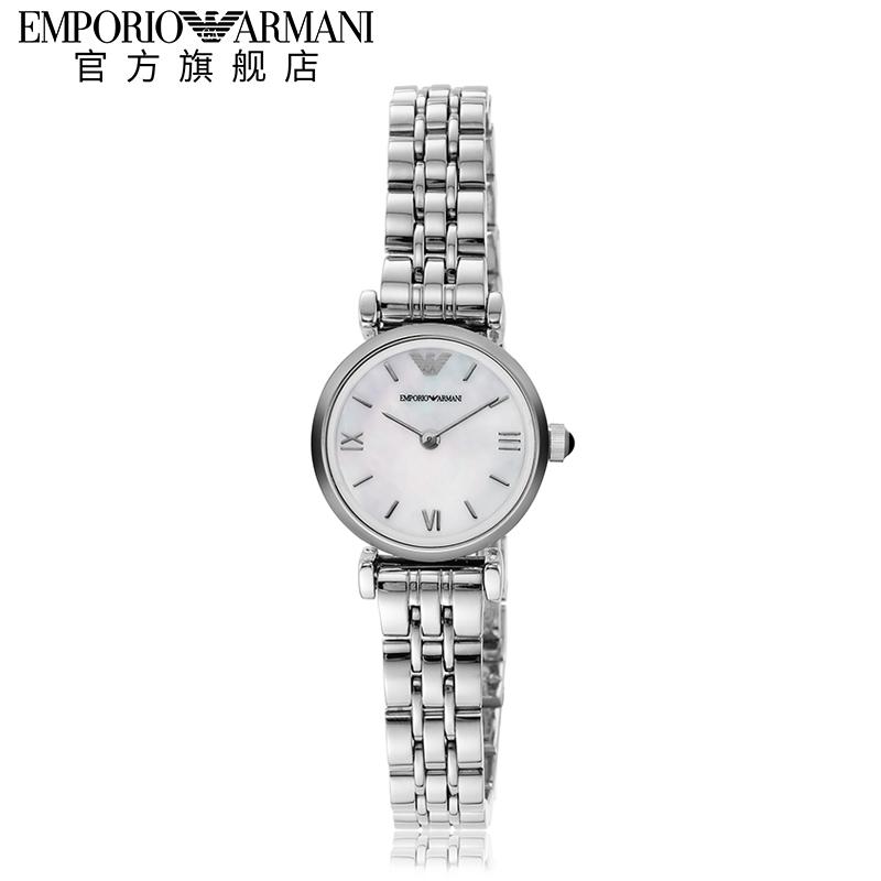 【预售】Armani阿玛尼手表女官方正品ins风简约小表盘女表AR1763