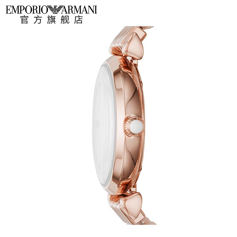 佟丽娅同款Armani阿玛尼官方正品手表女气质小众品牌钢带AR11317