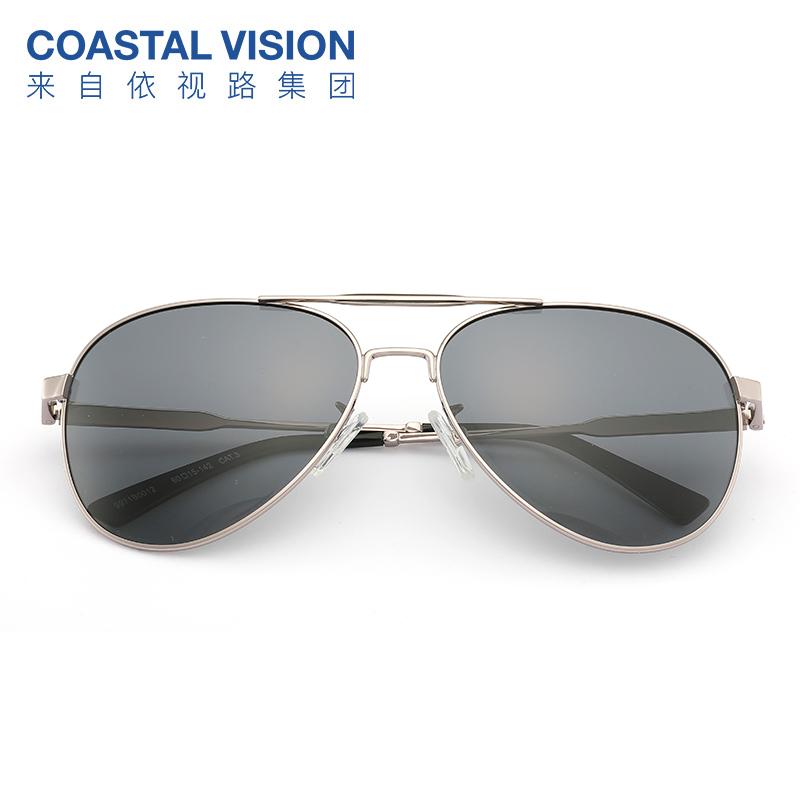 依视路旗下 Coastal Vision 镜宴 男式偏光太阳镜 CVS5036 双重优惠折后¥29包邮 15款可选 女款同价