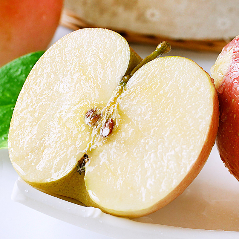 苹果水果新鲜当季10斤批一箱应季脆甜陕西红富士冰糖心丑苹果整箱