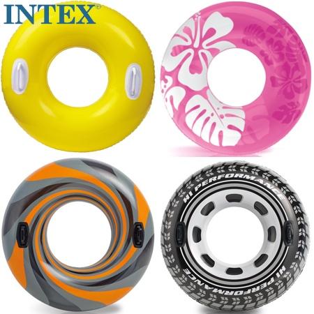 多省包郵 原裝正品INTEX成人浮圈 游泳圈 腋下圈 救生圈 加厚安全