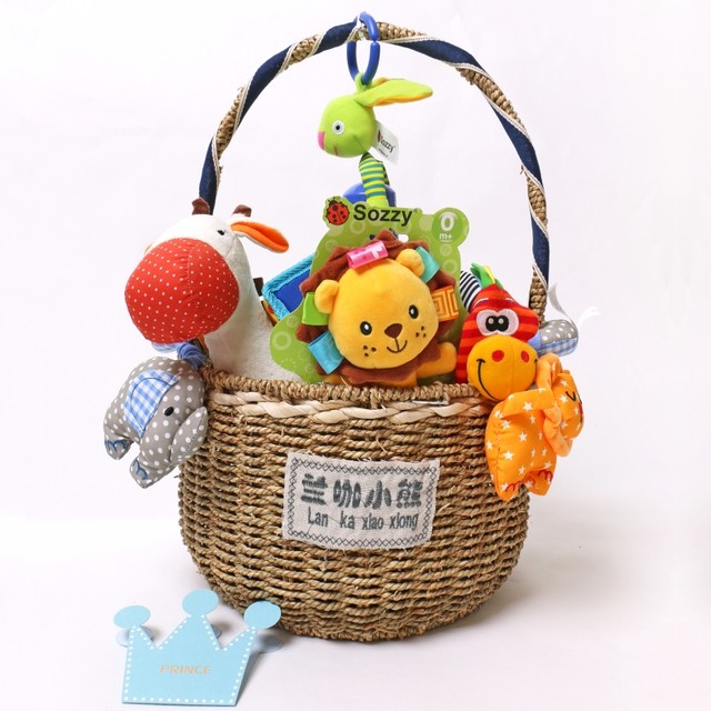 Newborn toy gift box mother and baby supplies baby gift box set full moon gift full moon hundred days to send a big gift package