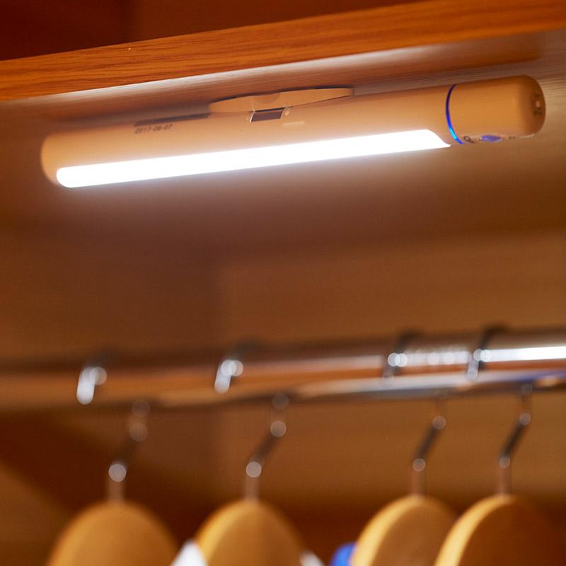 人体床头灯 LED 充电插电小夜灯楼道卫生间卧室智能光控 USB 欧普感应