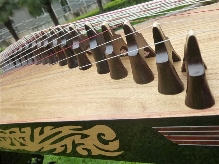 有视频 镇店 纯手工制作 高级收藏古筝 古筝 09A 朱雀古筝