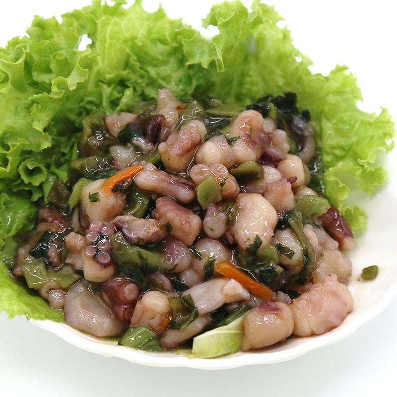 日式料理开袋即食新鲜凉菜芥末熟章鱼芥末章鱼爪美味下饭菜200g