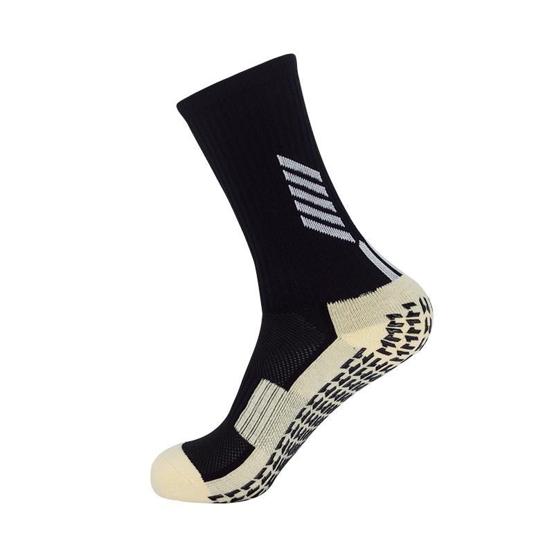防滑神袜足球袜男训练中长筒过膝加厚蹦床防滑袜儿童地板袜运动袜