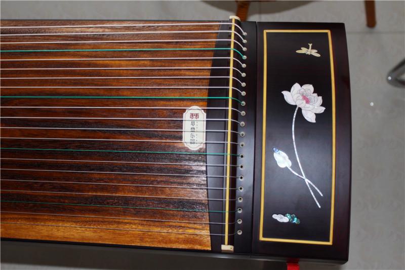 红木古筝 大人儿童考级古筝 兰韵乐器初学者入门专业演奏古筝