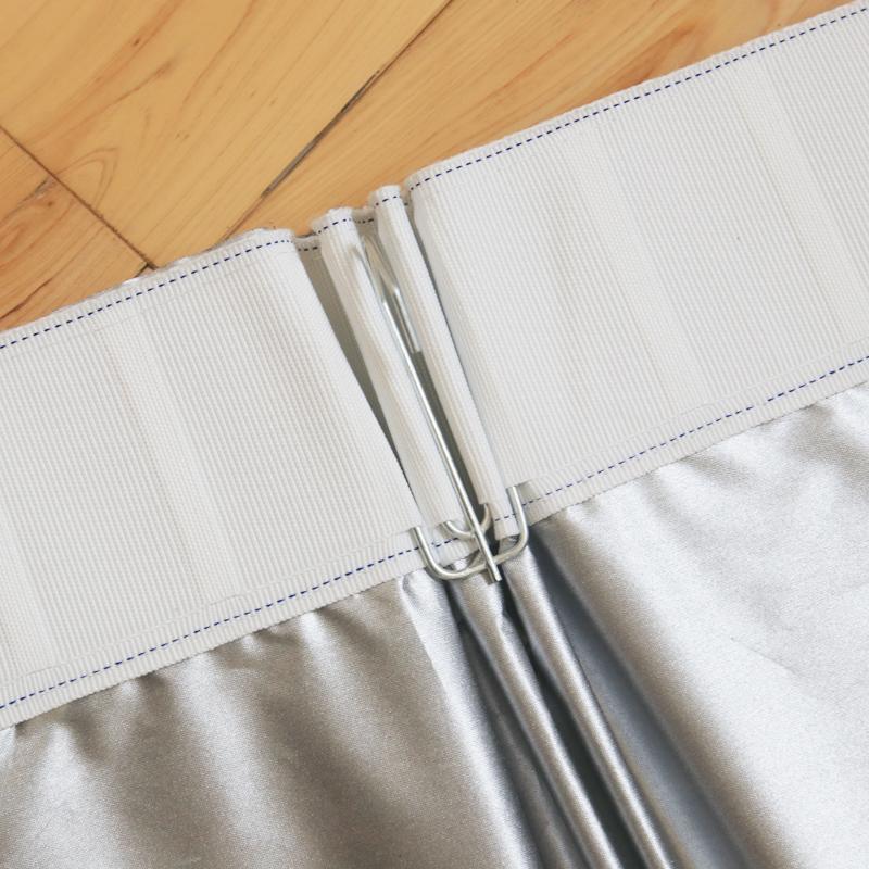 全遮光窗帘布料加厚成品防晒隔热遮阳落地飘卧室阳台客厅简约现代