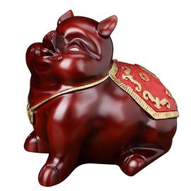 宝士杰发财猪存钱罐招财客厅创意可爱猪储蓄罐摆件开业乔迁送礼物