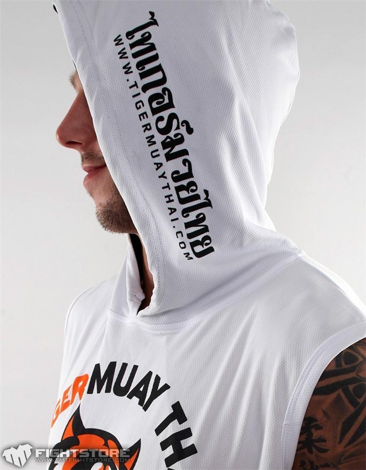 UFC无袖帽衫 MMA老虎泰拳馆卫衣卫裤T恤裤子 综合格斗训练服