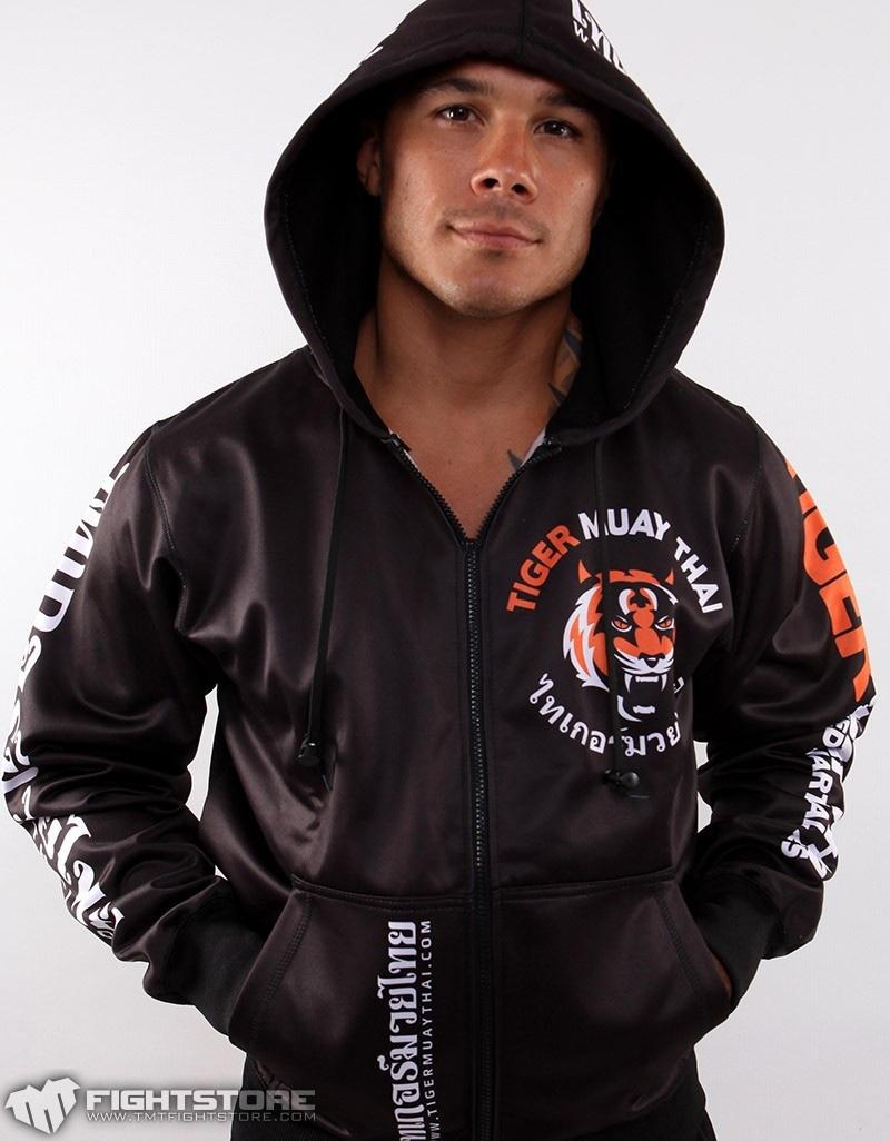 UFC长袖防磨衣帽衫MMA泰国老虎拳馆卫衣T恤裤子 泰拳训练综合格斗
