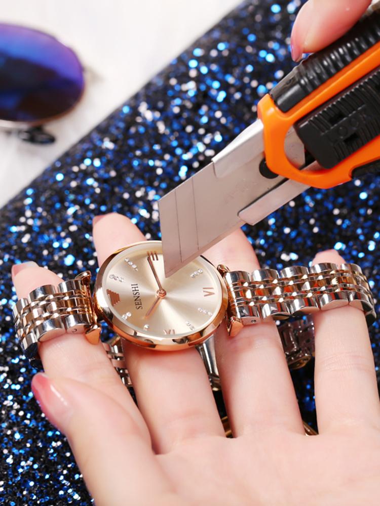 十大品牌奢华正品防水名牌手表女士简约气质阿玛满天星时尚女表