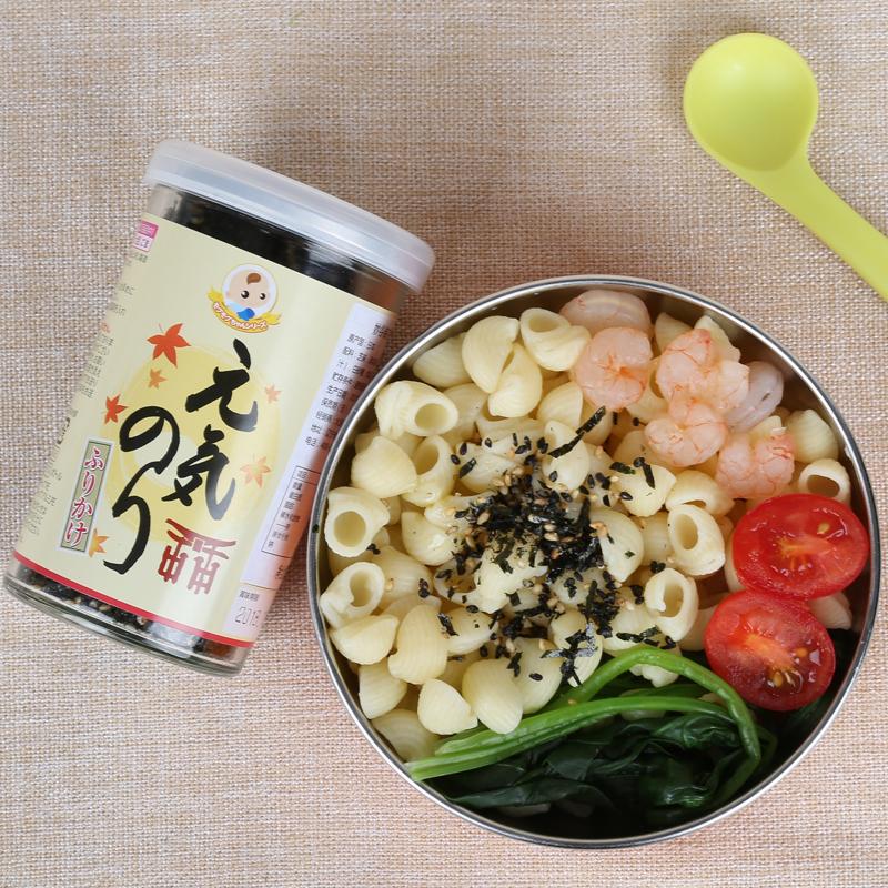 日本妙谷海苔拌饭料宝宝粉辅食添加料吃的调料调味花生妈妈盐日式