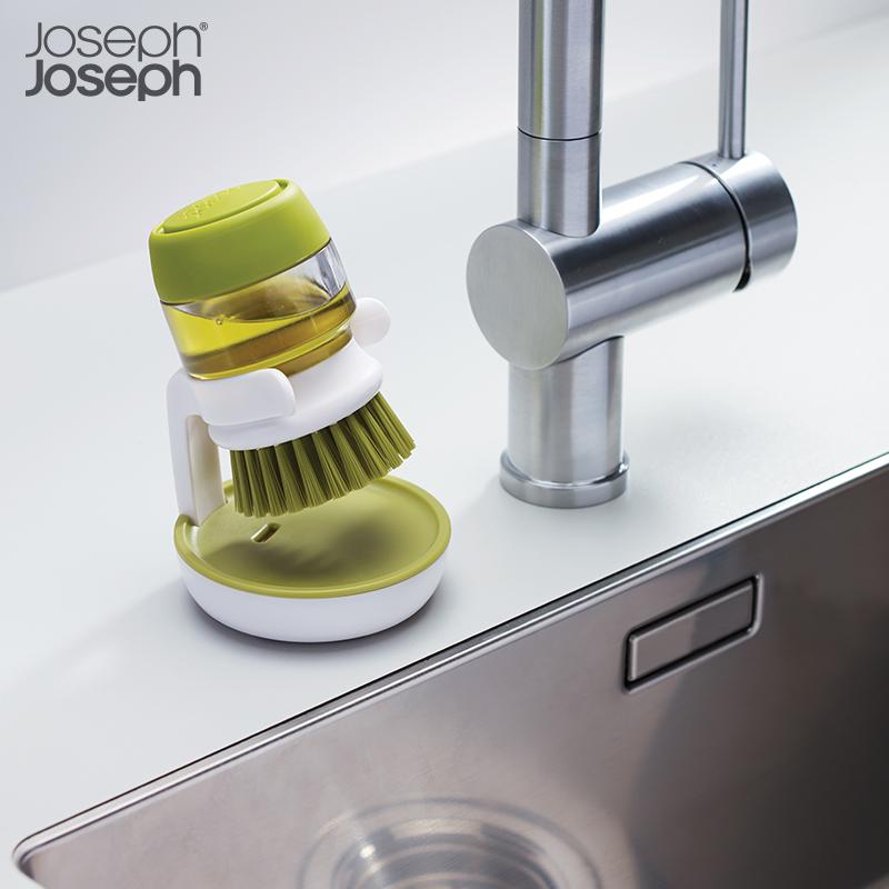 英國Joseph進口皁液刷洗潔精器罐洗碗刷創意洗鍋神器廚房清潔刷子