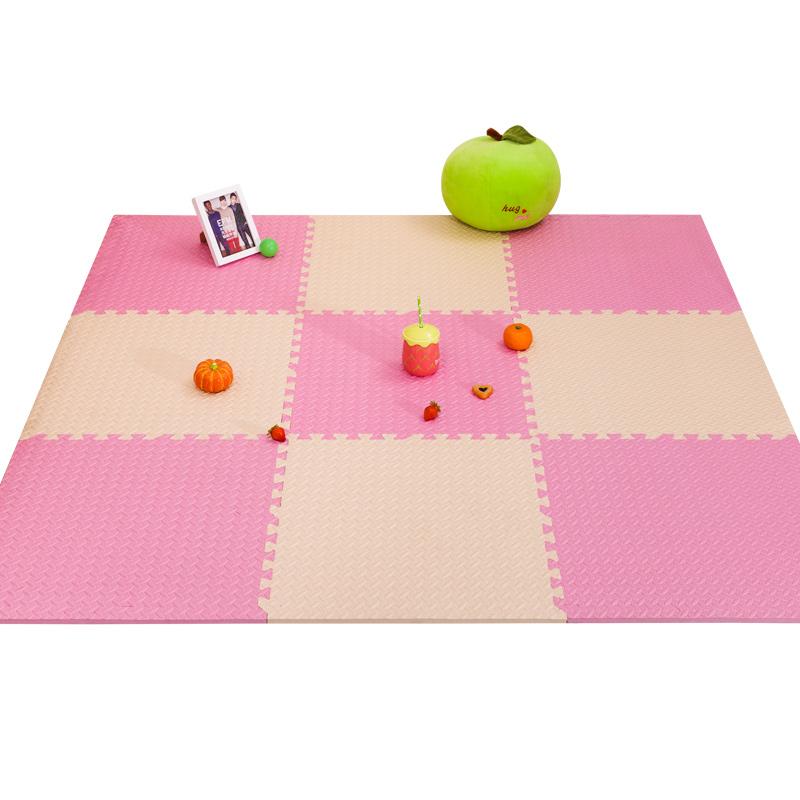 儿童家用爬行垫拼图海绵地板垫子加厚爬爬垫泡沫地垫拼接卧室地毯