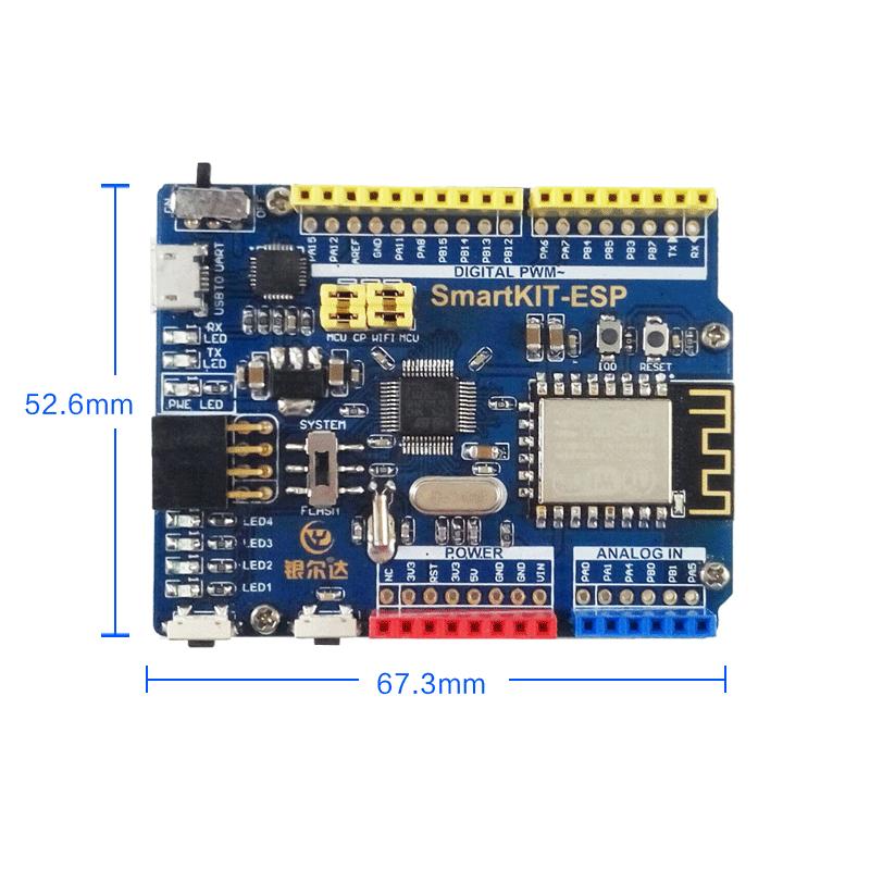 乐鑫ESP8266物联网无线通信STM32F103单片机机智云WIFI模块开发板