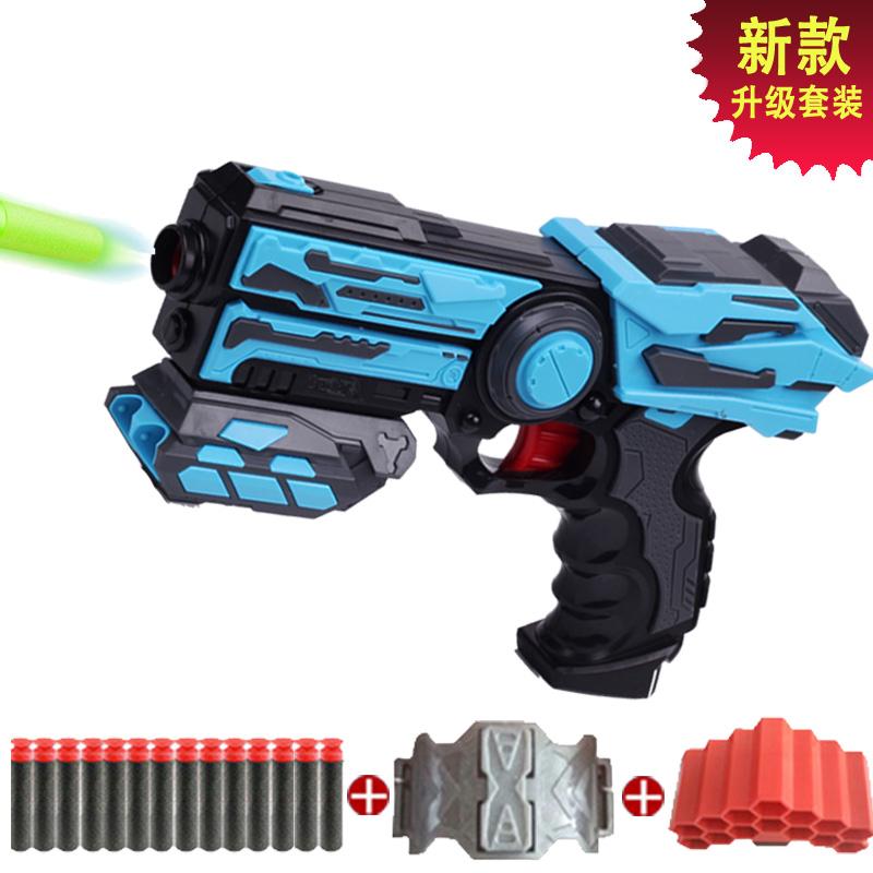 儿童枪玩具枪软弹枪可发射塑料吸盘子弹弹软手枪男孩小孩礼物套装