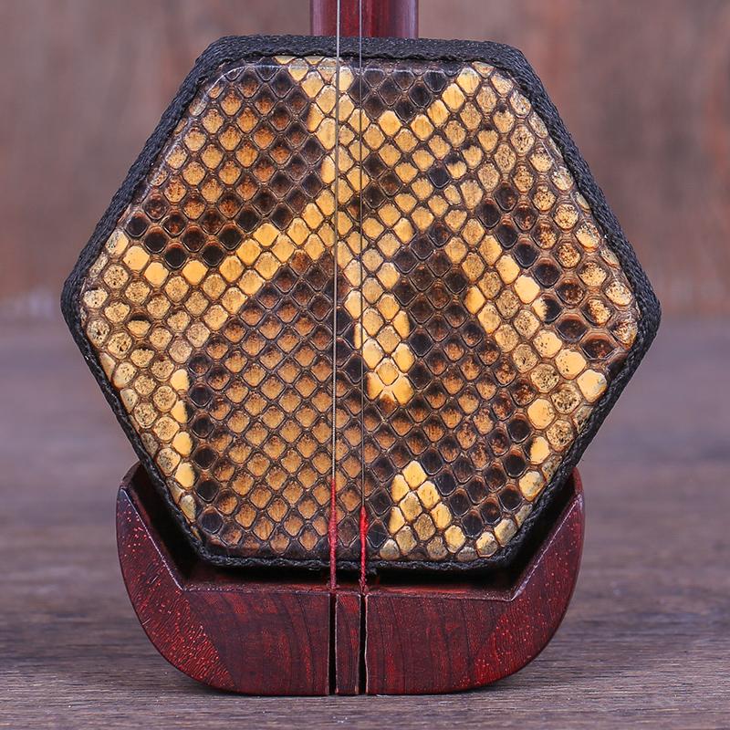 紫檀木龙头杆越胡主胡越剧二胡苏州民族乐器厂家直销送配件琴弦弓