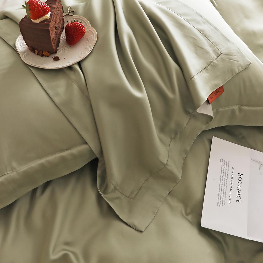 米床 1.51.8 级床上四件套春夏北欧款凉感被套床单 LF 奥地利兰精天丝