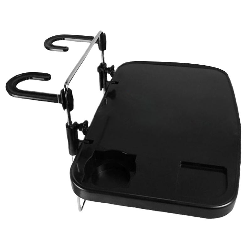 车载餐桌子后座笔记本折叠饭桌前后排靠背写字小桌板汽车电脑支架