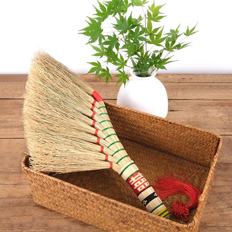 扫床扫炕家用除尘刷子桌面清洁小扫把簸箕套装扫地毯沙发小号笤帚
