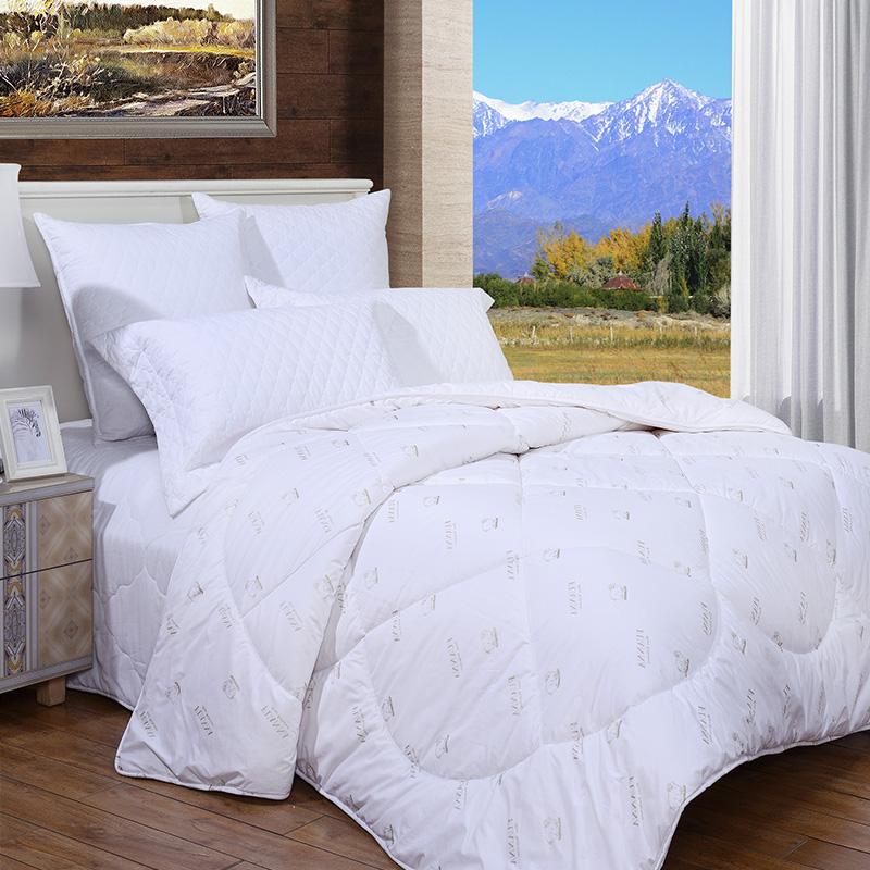 富安娜家紡澳洲羊毛被子被芯春秋被保暖加厚被褥單人雙人全棉冬被