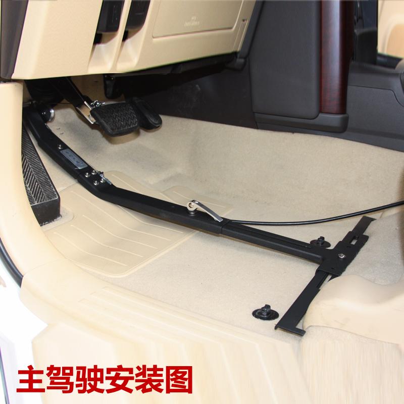 汽车副刹车装置 陪练家用通用型副驾驶刹车免打孔教练副制动器