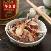 上海特产老字号邵万生秘制醉蟹钳宁波风味醉螃蟹海鲜蟹腿蟹脚500g (¥39)