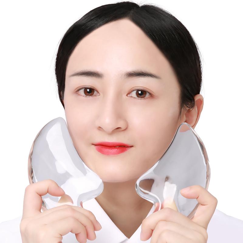 网红水晶美容刮脸神器