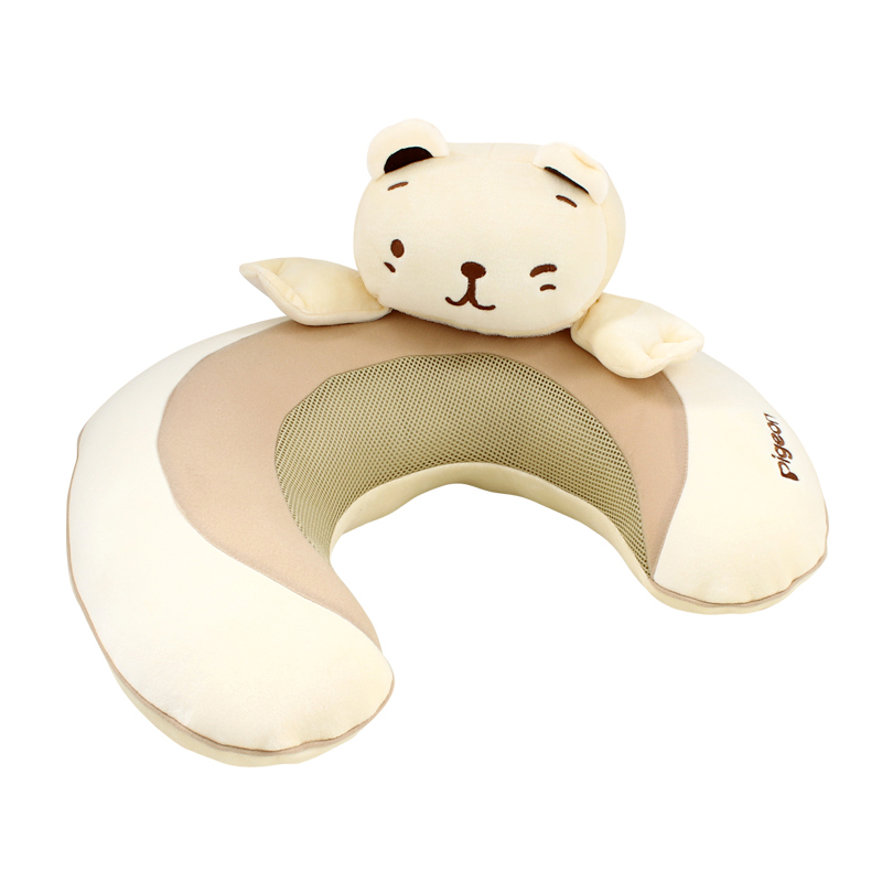 贝亲蓝色月亮款多功能U型枕头喂奶枕孕妇枕产妇授乳枕XA191