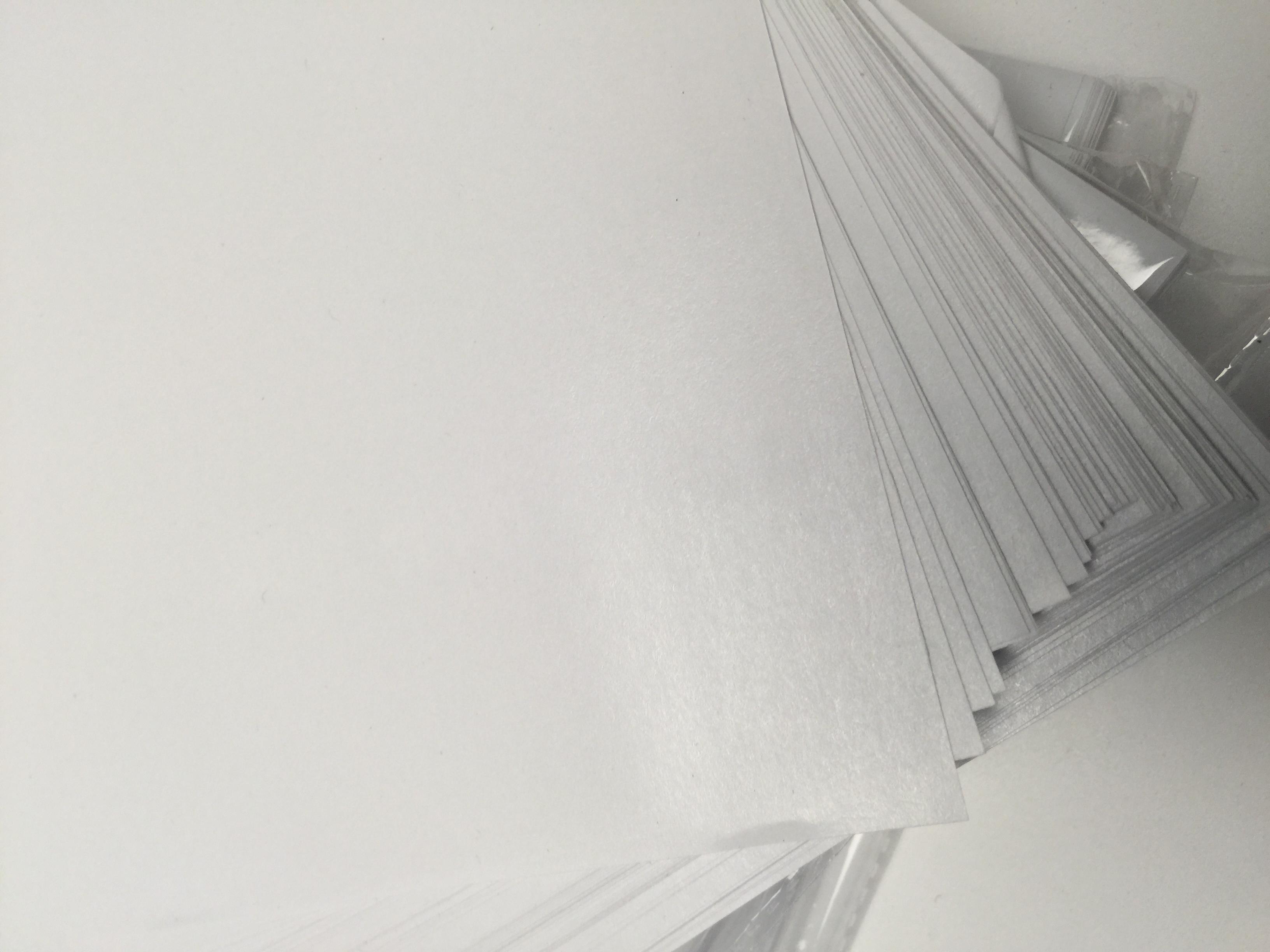 a4A4防粘纸离型纸隔离纸不干胶硅油纸剪纸贴手粘胶带diy手帐100张