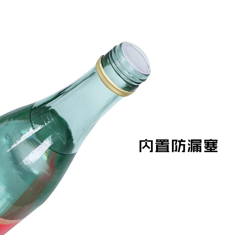 瓶浓香型粮食口粮酒水怀旧白酒 4 480ML 度 42 白酒整箱正宗革命小酒
