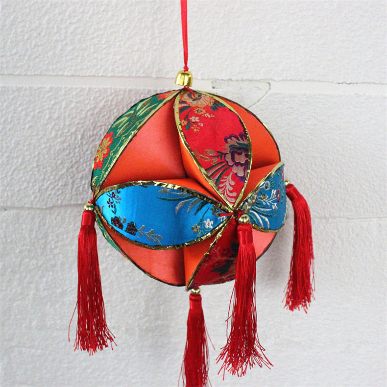 广西桂林壮族特色工艺绣球 特色文化纪念品舞台表演道具会议礼品
