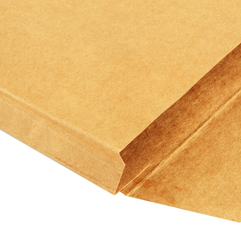 得力50个加厚A4牛皮纸档案袋纸质办公投标文件袋资料袋批发纸质投标加大号大容量批发定制订做收纳袋-可定制