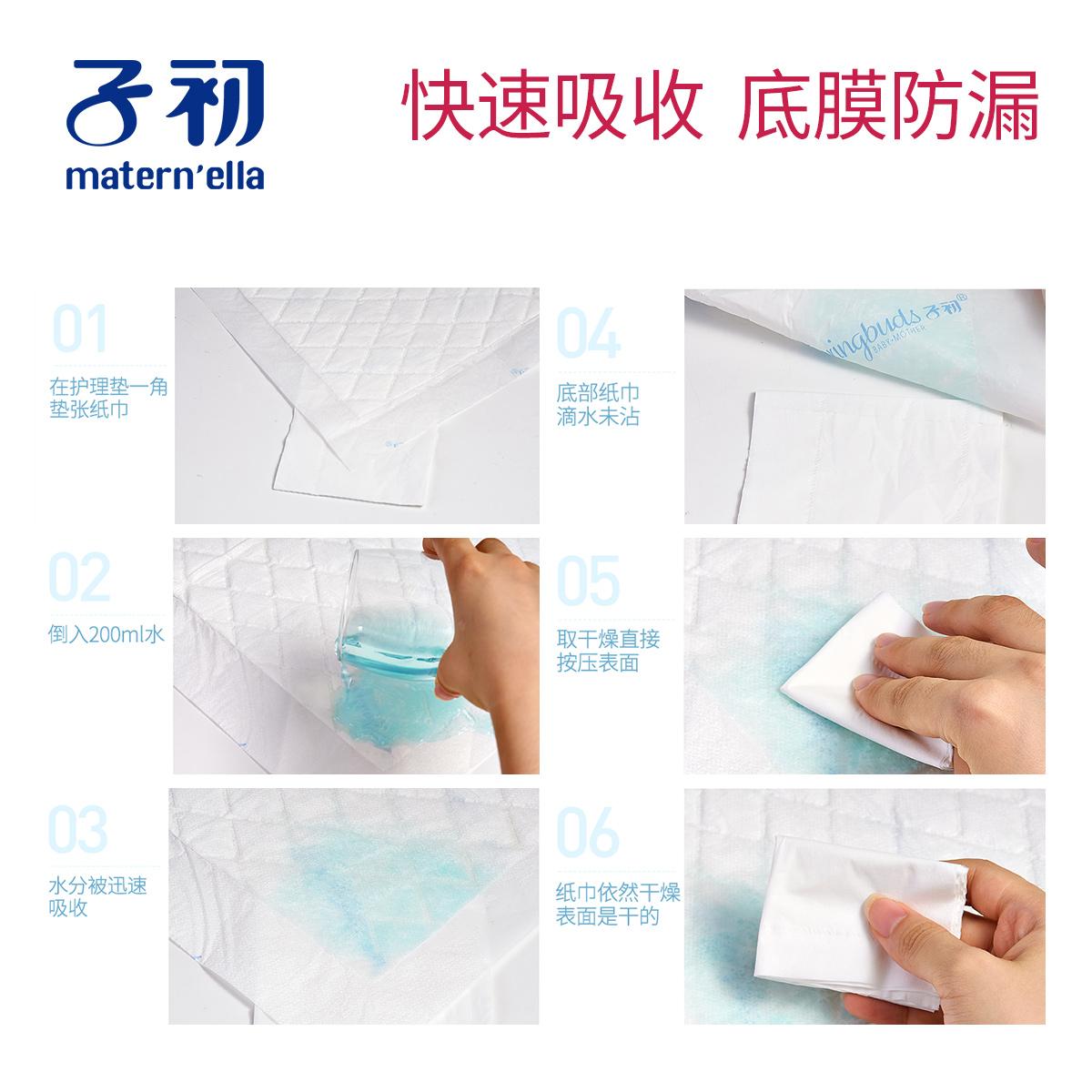 子初产妇产褥期护理垫一次性床单防水成人看护床垫产褥垫60*90cm