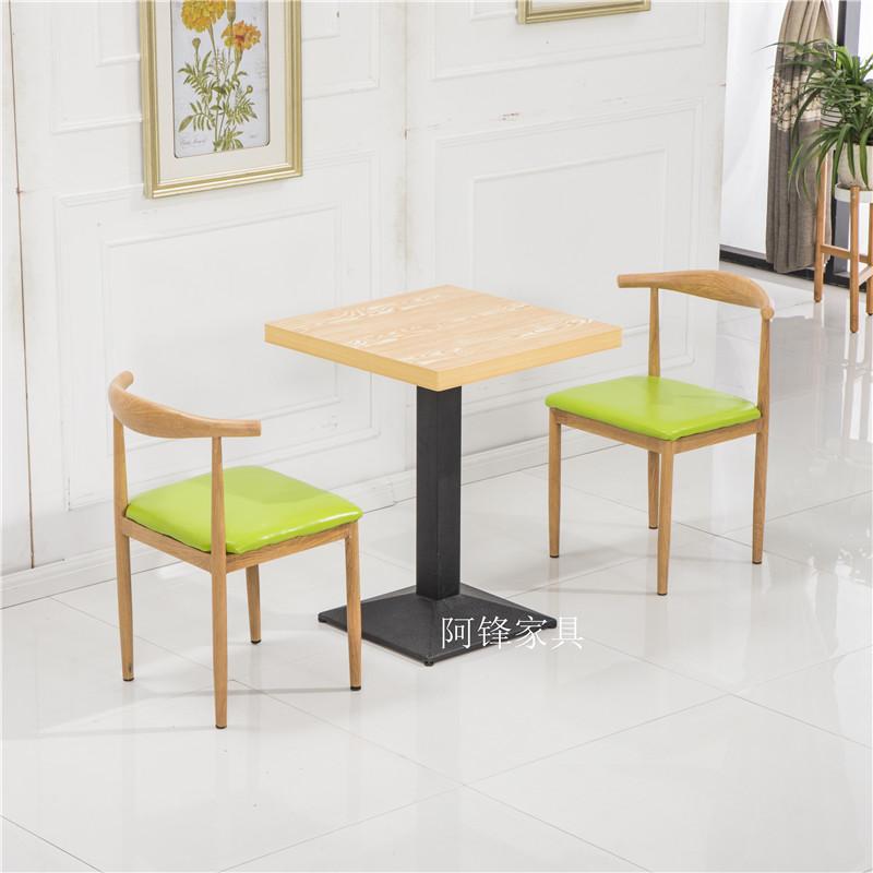 啡厅情侣快餐桌椅组合