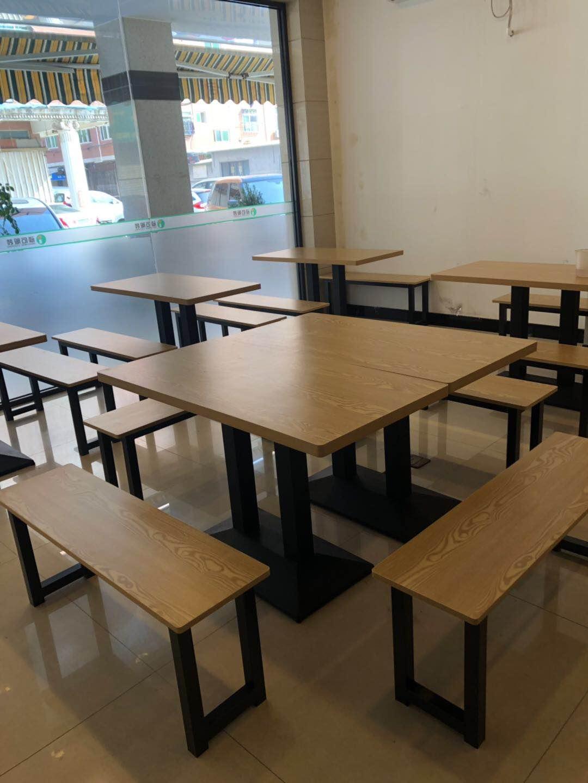 桌餐厅食堂餐桌椅定制