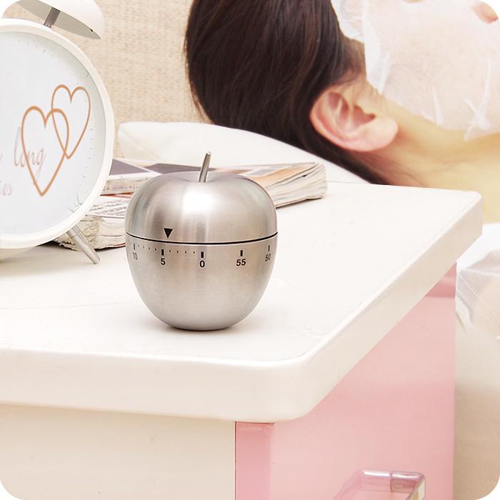 家用不锈钢厨房定时器计时器机械倒计时提醒器电子秒表闹钟大声