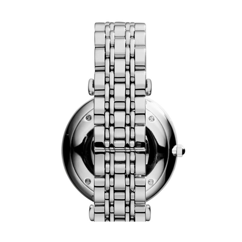 Armani 阿玛尼简约手表男钢带手表休闲石英表简约商务男表AR1819