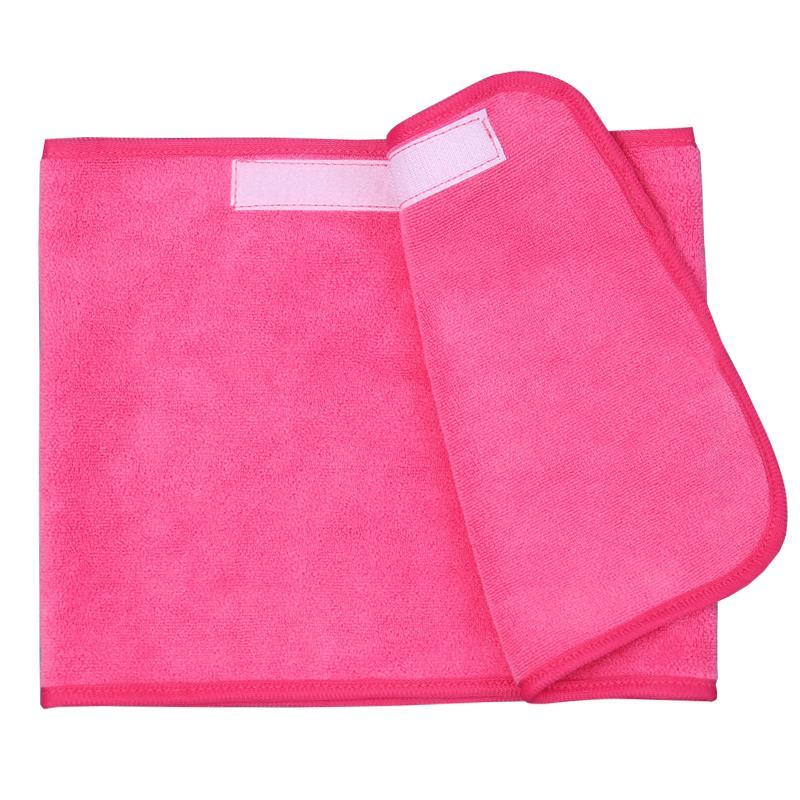 美容院毛巾包頭巾柔軟超強吸水束發帶加厚魔術貼美容專用束發毛巾